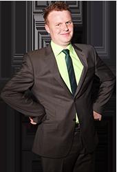 Tim Jantzen in seiner Stand Up Show