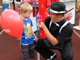Ballon-Promotion für REWE Niedersachsen